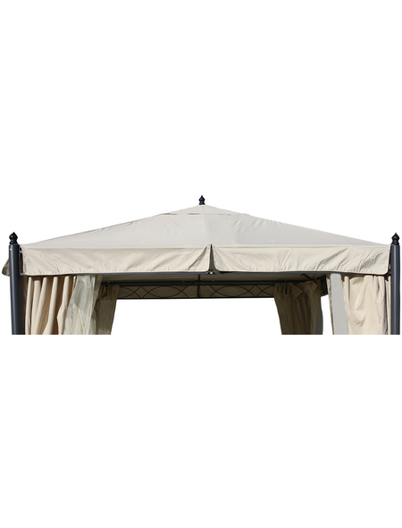 GRASEKAMP Ersatzdach »Rom«, BxT: 300 x 300cm, beige, Polyester