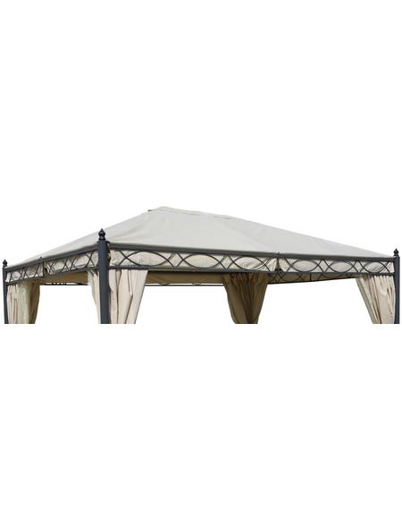 GRASEKAMP Ersatzdach »Rom«, BxT: 400 x 400cm, beige, Polyester