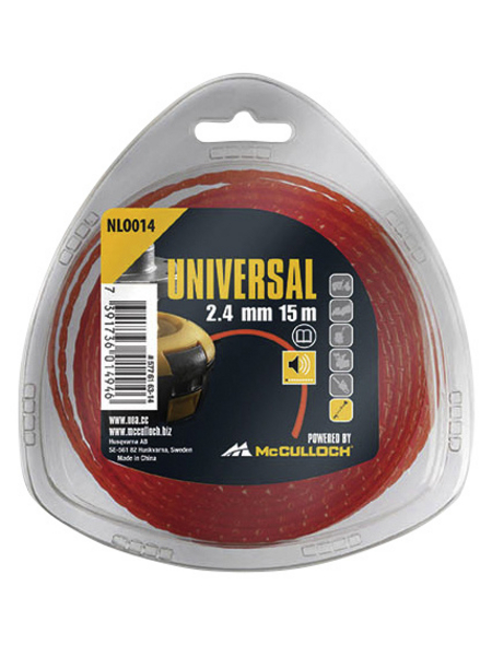 UNIVERSAL Ersatzfadenspule, rot