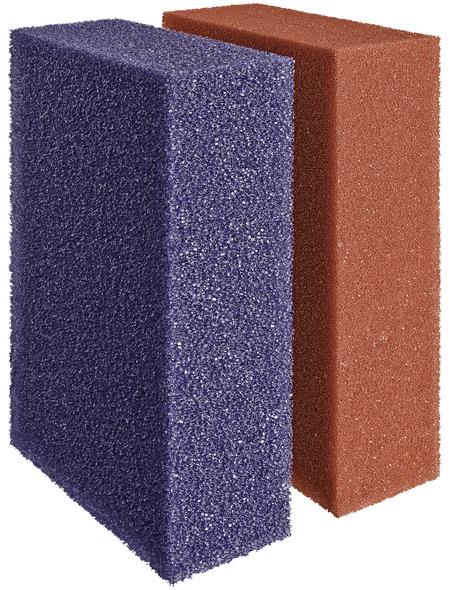 OASE Ersatzfiltermatten, geeignet für Teiche, rot/violett