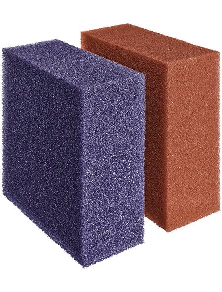 OASE Ersatzfiltermatten, geeignet für Teiche, violett/rot