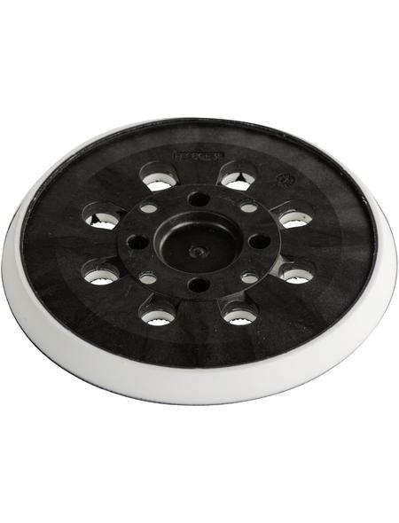 KWB Ersatzschleifteller, Schwarz, 125 mm Durchmesser
