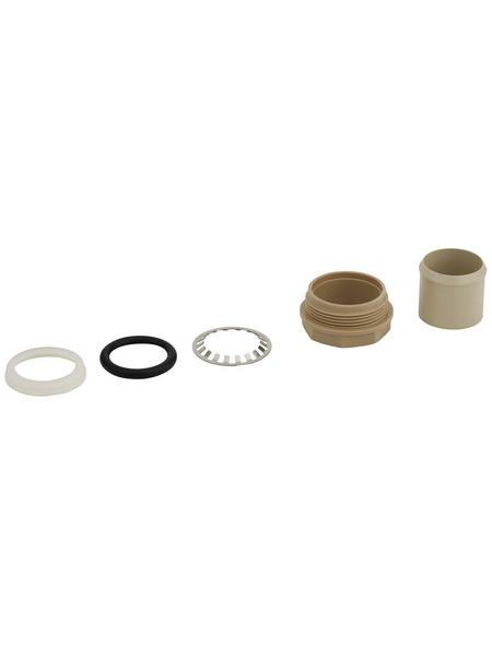 SANITOP-WINGENROTH Ersatzteil-Set, Messing/Kunststoff, weiß/silberfarben/beige/schwarz
