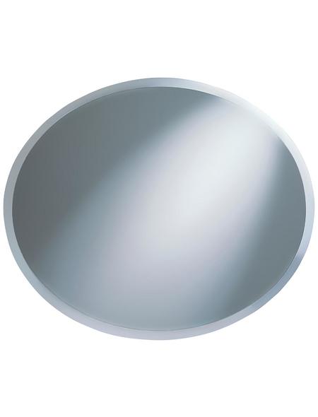 KRISTALLFORM Facettenspiegel »Nora«, rund, silberfarben