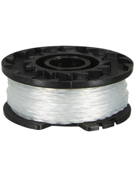 MR. GARDENER Fadenspule, Kunststoff/nylon, schwarz/transparent