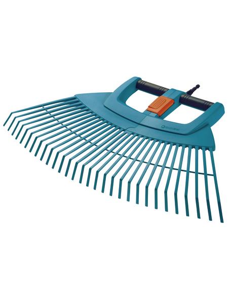GARDENA Fächerbesen, Arbeitsbreite: 77 cm, kunststoff/aluminium