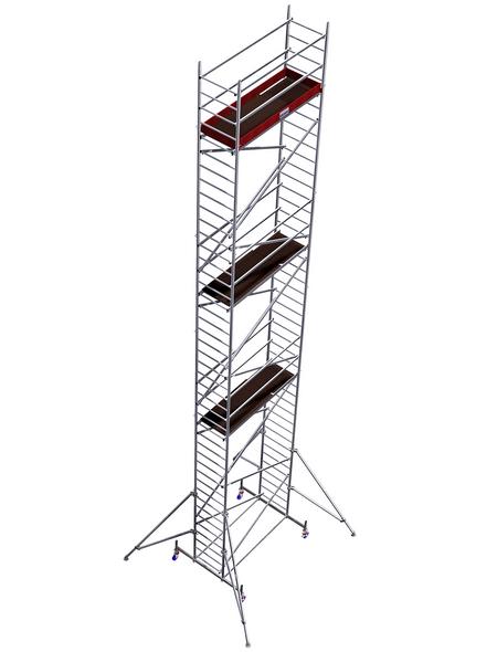 KRAUSE Fahrgerüst »MONTO«, 1130 cm Gerüsthöhe