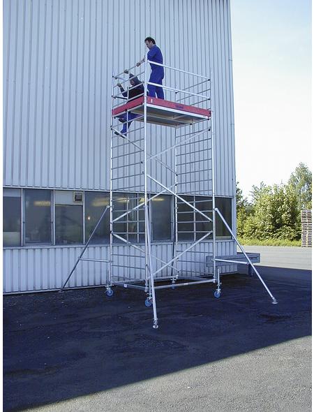 KRAUSE Fahrgerüst »MONTO«, 530 cm Gerüsthöhe
