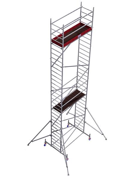 KRAUSE Fahrgerüst »MONTO«, 830 cm Gerüsthöhe, Tragfähigkeit 240kg