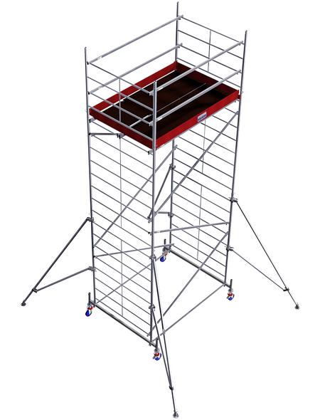 KRAUSE Fahrgerüst »MONTO«, Gerüsthöhe: 530 cm