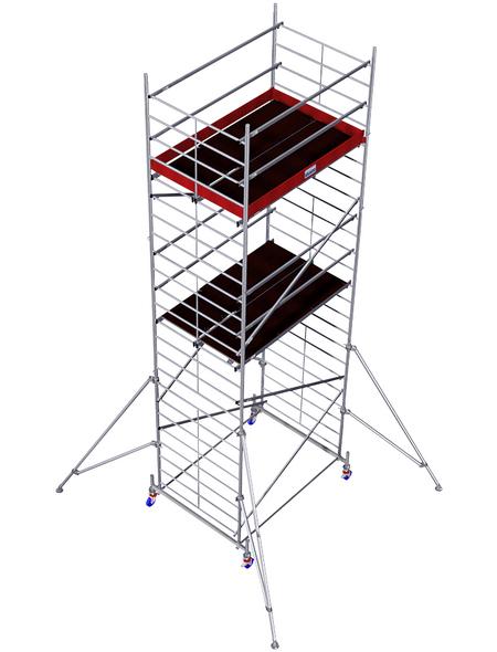 KRAUSE Fahrgerüst »MONTO«, Gerüsthöhe: 630 cm