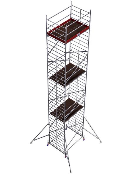 KRAUSE Fahrgerüst, PROTEC XXL, Aluminium, 1130 cm, 200x120 cm