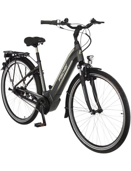 """FISCHER FAHRRAEDER Fahrrad »CITA 5.0i«, Schiefergrau 28 """", 7-gang, 11.6ah"""