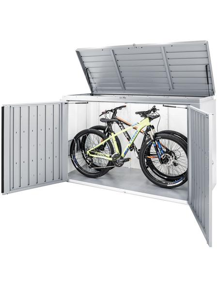 BIOHORT Fahrrad-/Mülltonnenunterstand »HighBoard«, B x T: 200 x 84 cm (Außenmaße ohne Dachüberstand)