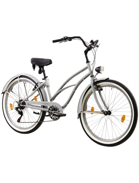TRETWERK Fahrrad »Ocean Side Lite«, 26 Zoll, Damen