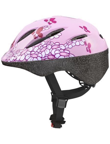 ABUS Fahrradhelm »Kids«, M (52 – 58 cm), pink