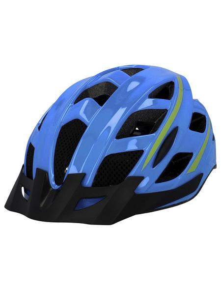FISCHER FAHRRAEDER Fahrradhelm, Urban Montis, L/XL, Blau, Klickverschluss