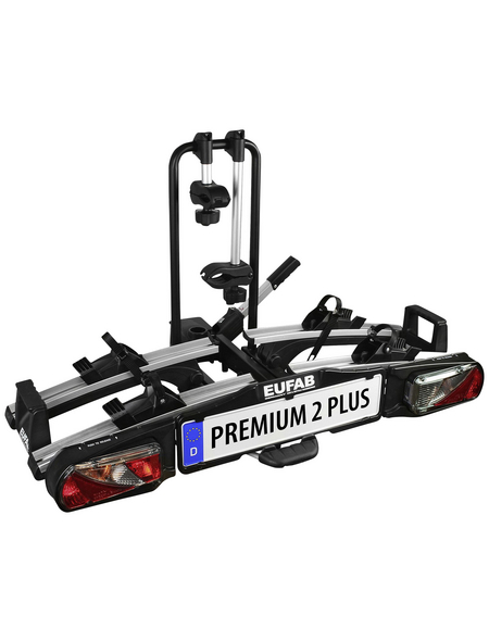 EUFAB Fahrradträger, BxHxT: 115 x 67 x 61 cm, Kunststoff/Stahl/Aluminium