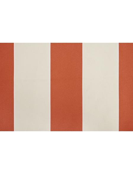 GO/ON! Fallarmmarkise, BxT: 250 x 150 cm, creme/orange gestreift