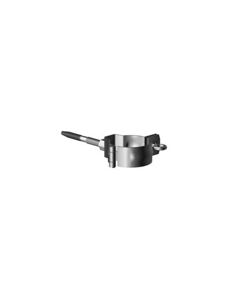 SAREI Fallrohrschelle, universal, Nennweite: 100 mm, verzinkter Stahl