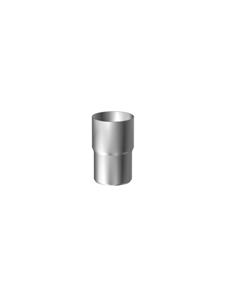 SAREI Fallrohrverbinder »Dachentwässerung«, Aluminium, Länge: 8 cm