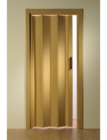 FORTE Falttür »Luciana«, Dekor: Eiche hell, ohne Fenster, Höhe: 202 cm
