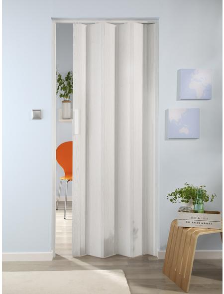 FORTE Falttür »Luciana«, Dekor: Eiche, ohne Fenster, Höhe: 202 cm
