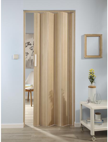 FORTE Falttür »Luciana«, Dekor: Esche, ohne Fenster, Höhe: 202 cm