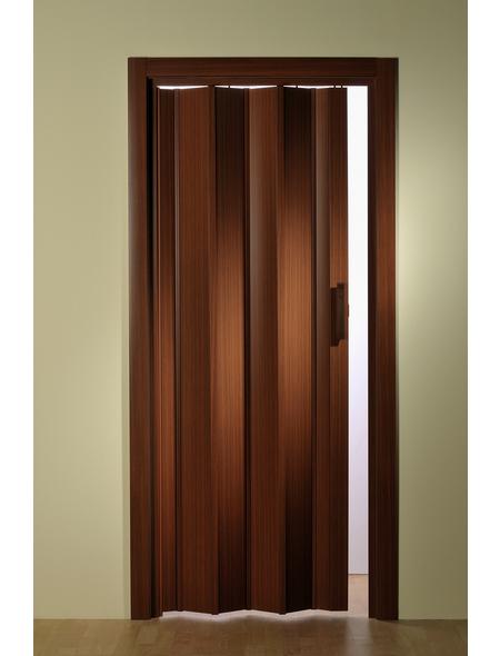 FORTE Falttür »Luciana«, Dekor: mahagoni, ohne Fenster, Höhe: 202 cm