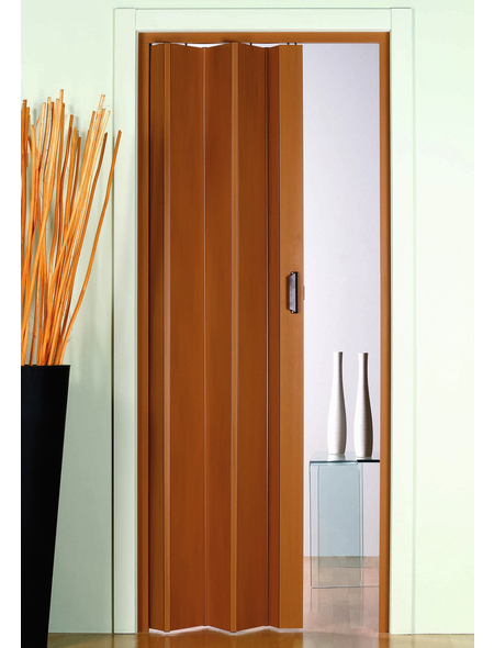 FORTE Falttür »Monica«, Dekor: Buche, ohne Fenster, Höhe: 204 cm