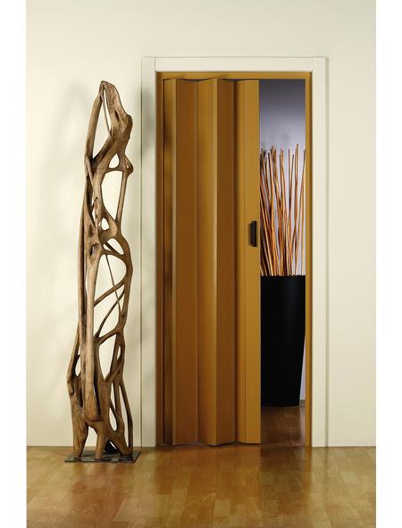 FORTE Falttür »Monica«, Dekor: Eiche, ohne Fenster, Höhe: 204 cm