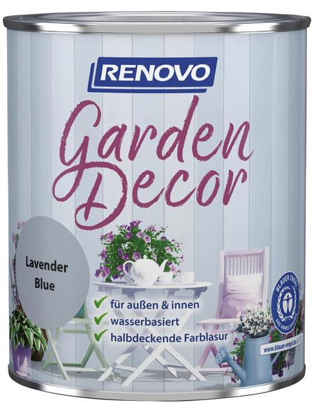 RENOVO Farblasur »Garden Decor«, für innen & außen, 0,75 l, Lavendel, seidenmatt