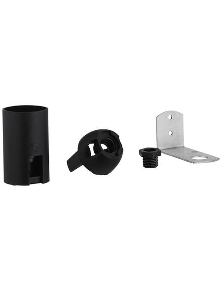 REV Fassung, Isolierstoff, E14, 250 V, schwarz