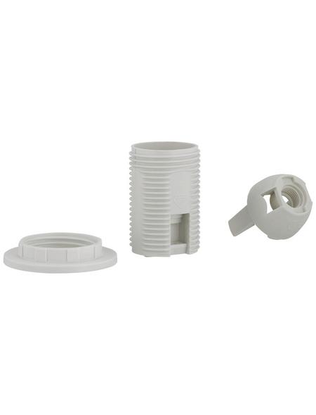 REV Fassung, Isolierstoff, E14, 250 V, weiß