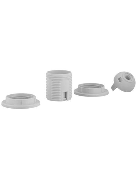 REV Fassung, Isolierstoff, E27, 250 V, weiß