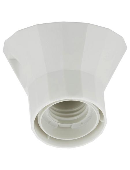 REV Fassung, Kunststoff, E27, 230 V, weiß