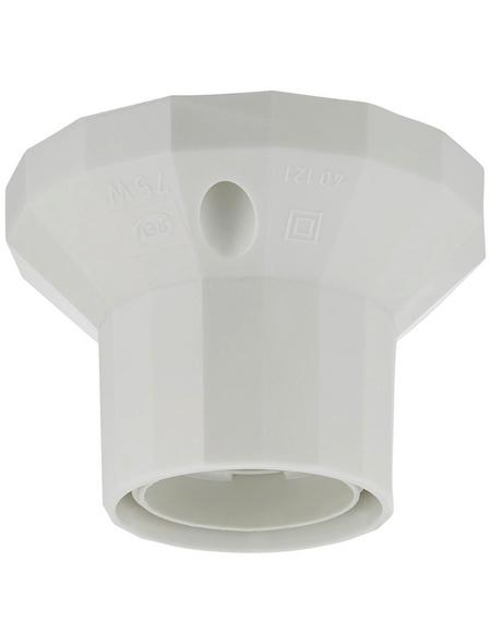 REV Fassung, Kunststoff, E27, 250 V, weiß