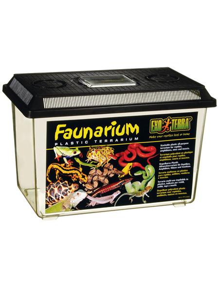 EXO TERRA Faunarium, 37 x 24,5 x 22 cm, Deckel mit Luftschächten und Tür