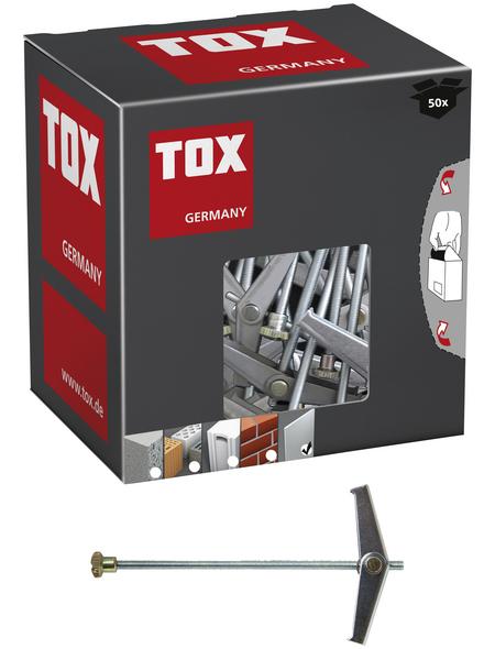 TOX Federklappdübel, Stahl | verzinkt, 50 Stück, 14 x 90 mm