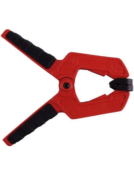 CONNEX Federspannzwinge, Spannweite: 75 mm, 1,85 cm