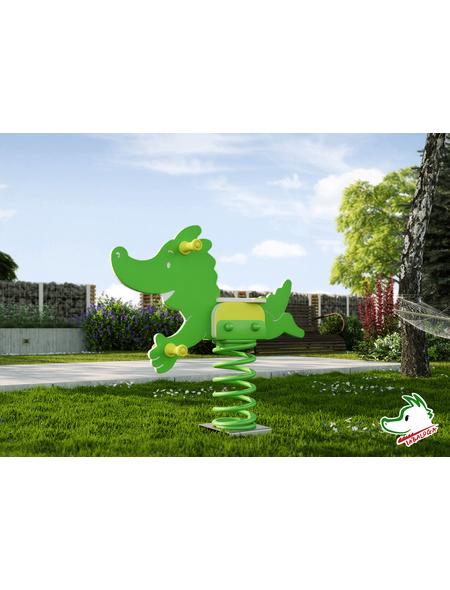 WEKA Federwippe »Tabaluga«, Kunststoff, grün
