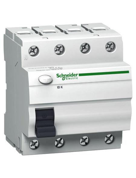 Schneider Electric Fehlerstromschutzschalter, IDK, 4-Polig 25/0,03 A, 25 A