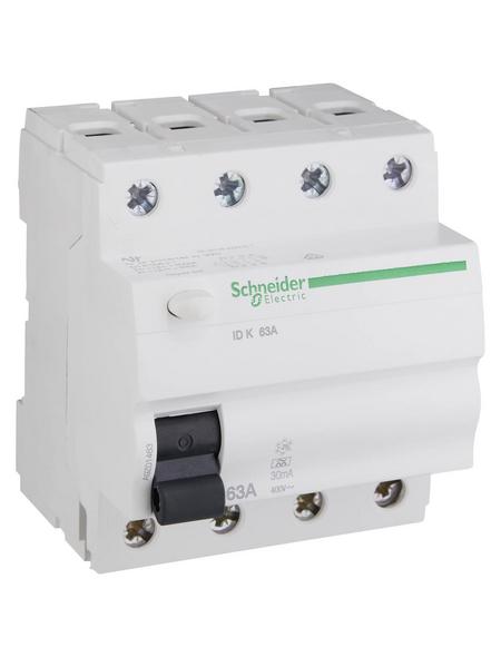 Schneider Electric Fehlerstromschutzschalter, IDK, 4-Polig 63/0,03 A, 63 A
