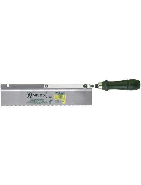 CONNEX Feinsäge, Länge: 37,5 cm, Material Sägeblatt: Stahl