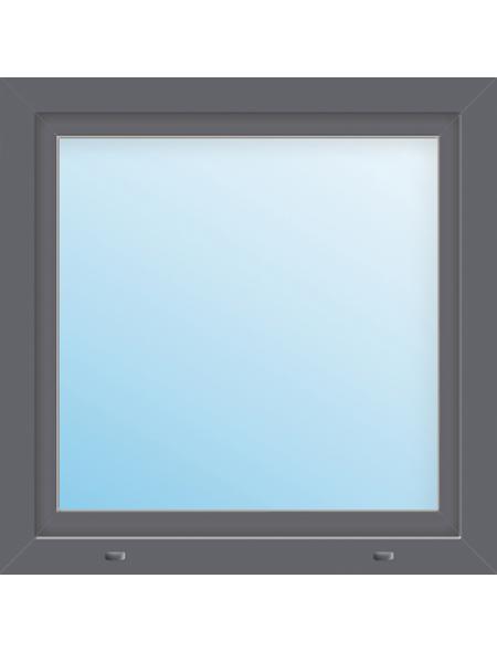 Meeth Fenster »77/3 MD«, Gesamtbreite x Gesamthöhe: 105 x 95 cm, Glassstärke: 33 mm, weiß/titan
