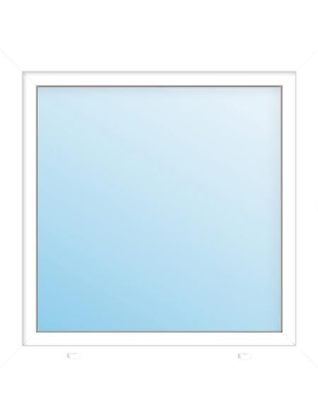 Meeth Fenster »77/3 MD«, Gesamtbreite x Gesamthöhe: 110 x 110 cm, Glassstärke: 33 mm, weiß