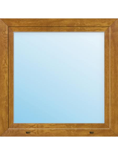Meeth Fenster »77/3 MD«, Gesamtbreite x Gesamthöhe: 110 x 110 cm, Glassstärke: 33 mm, weiß/golden oak