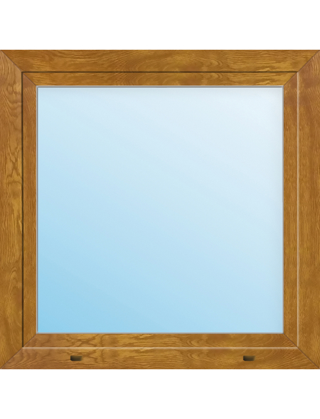 Meeth Fenster »77/3 MD«, Gesamtbreite x Gesamthöhe: 110 x 55 cm, Glassstärke: 33 mm, weiß/golden oak