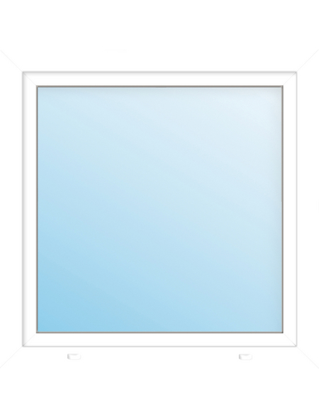 Meeth Fenster »77/3 MD«, Gesamtbreite x Gesamthöhe: 120 x 130 cm, Glassstärke: 33 mm, weiß