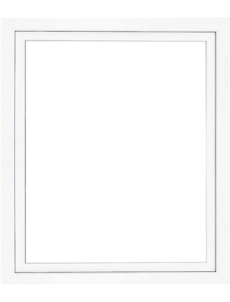 RORO Fenster »B70/5K«, Kunststoff, weiß, Glasstärke 24mm